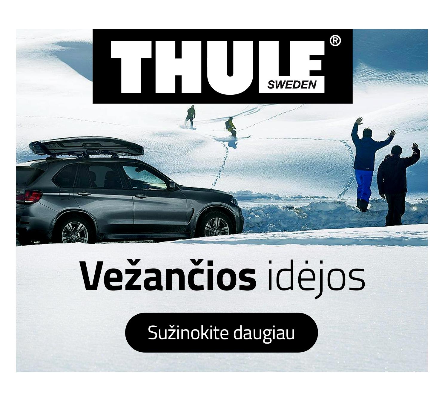 Baneriu Dizainas Thule