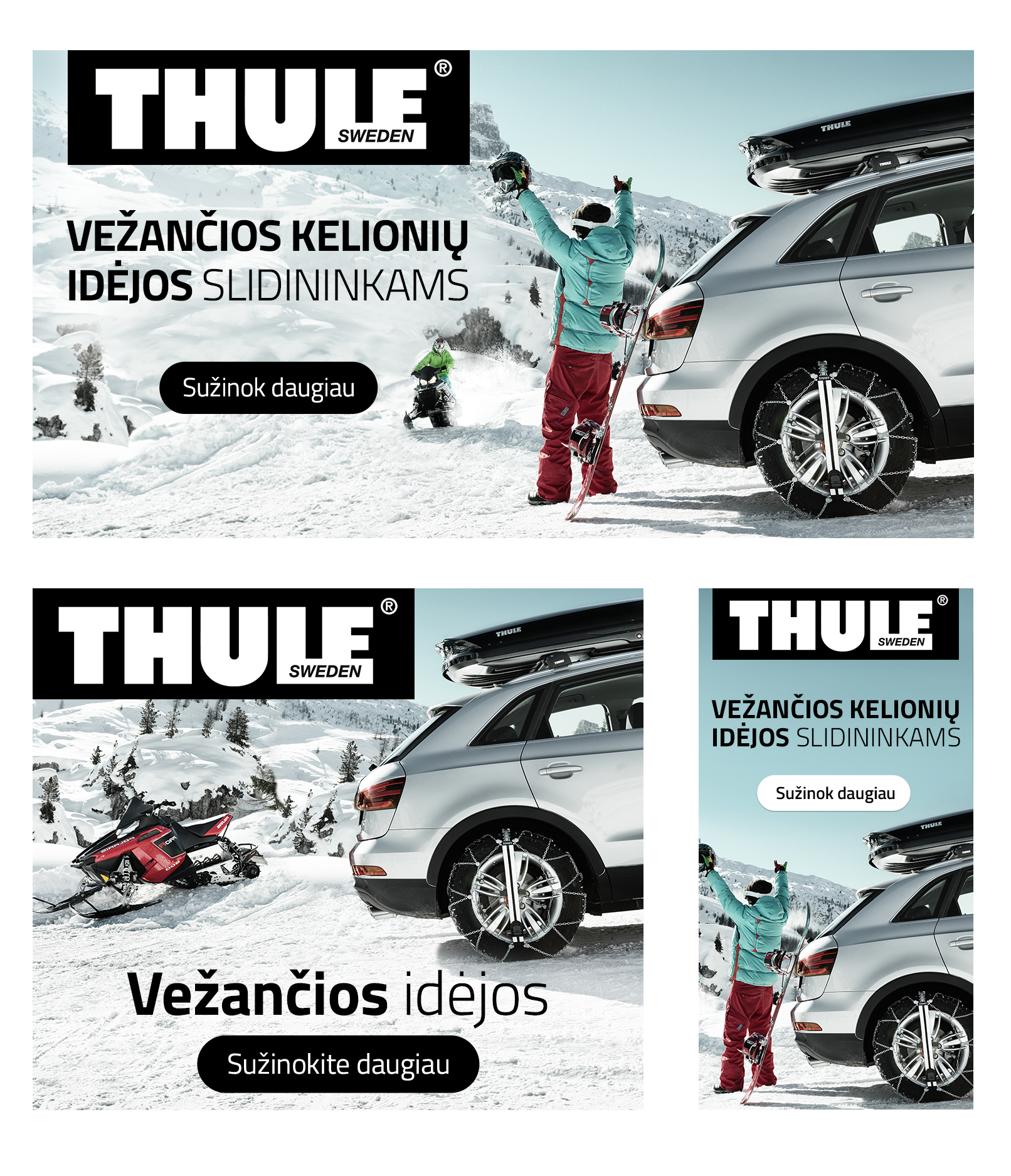 Reklaminiai Skydeliai Thule